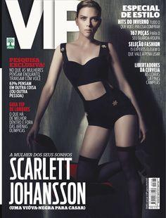 Scarlett Johansson na capa da VIP