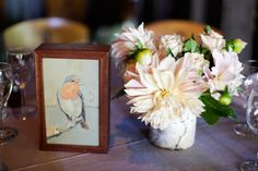 Inspiración temática para una boda : los pájaros