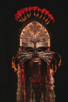 Gwynn Popovac's masks 29 by blackhawk32, via Flickr http://www.flickr.com/photos/blackhawk32/5045901337/in/photostream/