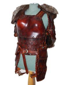 The Scythian: women's armor leather
