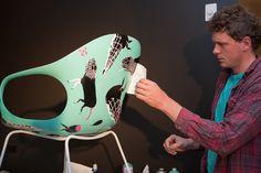 Elephant chair by urban artists Numskull, Roach, Jumbo for Kristalia For the opening of the Fanuli showroom in Sydney, Australia, Kristalia asked three urban Hall Furniture, Furniture Design, Roaches, Interior Design, Interior Ideas, Modern Design, Elephant, Urban, Artists