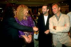 Jimmy Page, Robert Plant, Eric Clapton, Sting