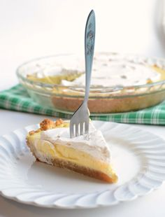 North Carolina Lemon Pie- easy to make and you'll never guess what the crust is made from!