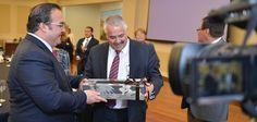 Javier Duarte dio la bienvenida a embajadores, cónsules y agentes consulares de los países que participarán en las competencias que se realizarán en noviembre próximo.