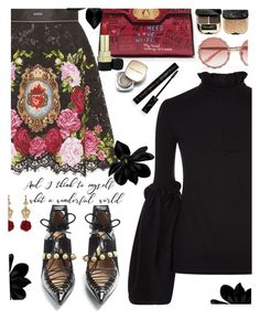 """""""It's A Wonderful LIfe"""" by juliehooper ❤ liked on Polyvore featuring Mother of Pearl, Rue St. and Dolce&Gabbana"""