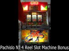 Pachislo NJ 4 Reel Slot Machine Bonus