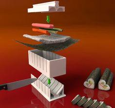 Set Pembuat Sushi – Sushi Maker Set Rp. 125.000