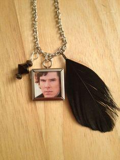 Sherlock Benedict Cumberbatch Martin Freeman by elizagolightly, $11.00