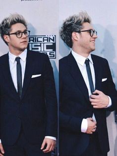 Niall looks unbelievable in those glasses!