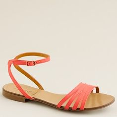 Lilibeth leather sandals $98.00