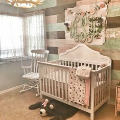 Rustic Glam Pallet Wall in girls nursery. 2019 Rustic Glam Pallet Wall in girls nursery. The post Rustic Glam Pallet Wall in girls nursery. 2019 appeared first on Nursery Diy.