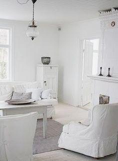 Luxury White Interior