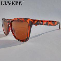 Fashion 2017 LVVKEE NEW Brand Logo design men sunglasses Outdoor sports Leopard sunglasses for women Colored lenses Gafas de sol