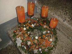 Vánoční les s vůní pomeranče