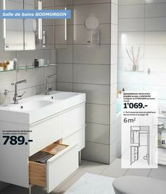 Ikea and belle on pinterest - Meubles ikea salle de bain ...