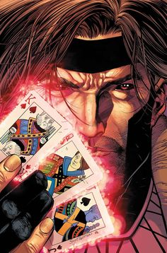 For 18 years Ive been waiting for PROPER representation of my favorite Marvel Character. Today brings me hope for the future of Marvel Studios and the Ragin Cajun. Marvel Dc Comics, Marvel Avengers, Gambit Marvel, Gambit X Men, Avengers Images, Marvel Heroes, Xmen, Gambit Wallpaper, Avengers Wallpaper