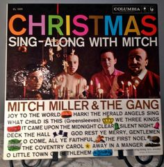 Vintage Christmas Album Christmas Sing-Along With Mitch 1958 by vintagepoetic on Etsy
