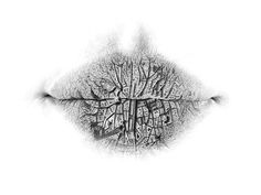 Surreal Pencil Drawings of Lips by Christo Dagorov