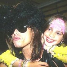 Steven Tyler and his 3rd daughter, Chelsea.