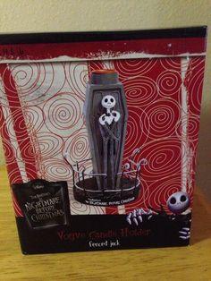 "Jack Skellington Nightmare Before Christmas 6-1/4"" Votive Candle Holder"