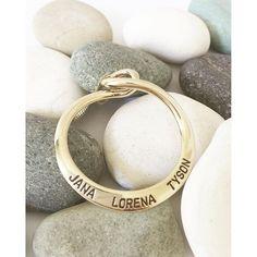 Infinite memories. Infinite love. The Infinity pendant. www.uberkate.com.au