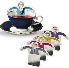Royalty Relaxing in Tea