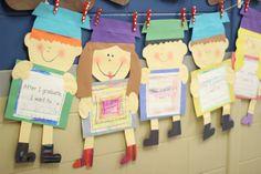 Preschool Graduation Crafts Or Ideas | First Grade Blue Skies: Graduation Kid Craft and Kindergarten Freebies