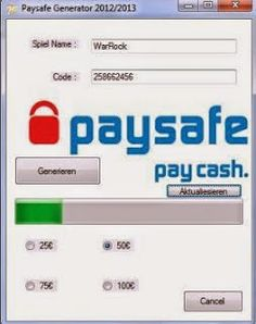 Paysafecard Pin Code Generator download cd-key keygen full. Free Paysafecard Pin…