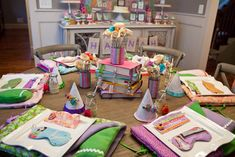 Anders Ruff Custom Designs, LLC: Book Theme Party with Bedtime Stories