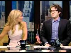 Josh Groban co-hosts Live w Kelly 5-3-2012 PART 2 of 3 - YouTube2.flv This is really funny.