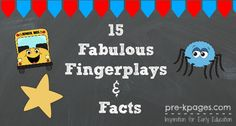 Fingerplays have many educational benefits that can support the development of skills necessary for meeting Common Core Standards in preschool and kindergarten. With 5 video links, for transitions Preschool Fingerplays, Preschool Music, Preschool Literacy, Early Literacy, In Kindergarten, Circle Time Songs, Circle Time Activities, Music Activities, Literacy Activities