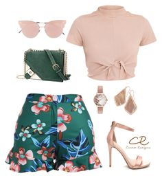 A fashion look from september 2017 by candida-rodriguez-alba featuring oliv Cute Casual Outfits, Short Outfits, Stylish Outfits, Spring Outfits, Girl Outfits, Fashion Outfits, Look Fashion, Teen Fashion, Womens Fashion