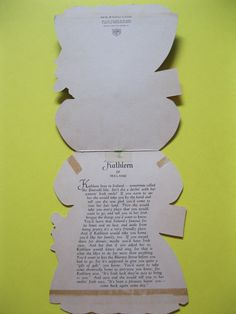 1949 Hallmark KATHLEEN OF IRELAND Dolls of the by Friends4Keeps