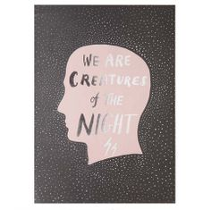 The Minimalist Store x Creatures of the Night / Limited edition print