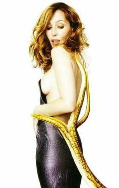 Gillian Anderson - X files
