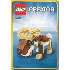 Reno navideño de Lego de 66 piezas... mi sueño hecho realidad :-)