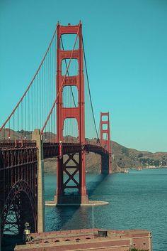 San Francisco - we walked the   bridge!