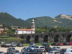 Roman bridge Ponte de Lima