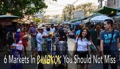 Bangkok has some of the best and biggest markets in the world. So how to decide what Bangkok market to visit? Here is 6 of our favourite markets in Bangkok!