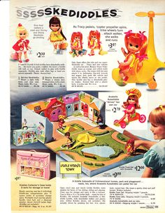 1968 Sears Christmas Book, Page 583 - Christmas Catalogs & Holiday Wishbooks 1960s Toys, Retro Toys, 1970s Dolls, Christmas Catalogs, Christmas Books, Vintage Advertisements, Vintage Ads, Vintage Stuff, Childhood Toys