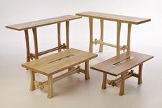 James Harvey Furniture - Coastal Range - Family of Coastal Tables.