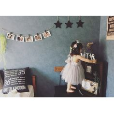 iZuMiさんの、自己満足,サンゲツ壁紙,izumi_luv_h,インスタやってます!,暮らし,誕生日,おうちスタジオ,バースデーフォト,2歳,インテリア,寝室,新築,マイホーム,部屋全体,のお部屋写真
