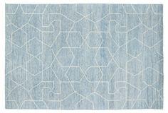 Ashley Rug, Light Blue