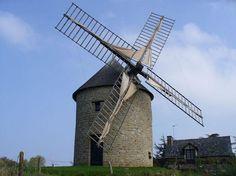 Moulin du Tertre - Mont Dol , Bretagne France