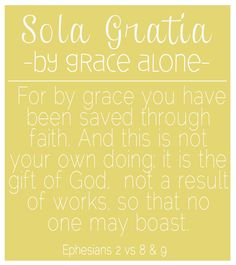 Reformation Day printable - Grace Alone
