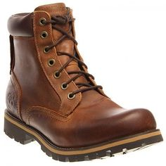 """Timberland Men's Earthkeepers Rugged 6"""" Plain Toe Waterproof Boots Copper 9.5"""