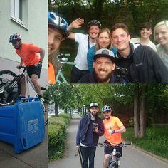 Instagram picutre by @ralldaniel: Filmdreh für den Fahrrad-Schutzstreifen in Ulm  Super Team hat richtig viel Spaß gemacht #filmdreh #crew #video #bike #mountainbike #ebike #stadt #sicherheit #danielrall #ulm - Shop E-Bikes at ElectricBikeCity.com (Use coupon PINTEREST for 10% off!)