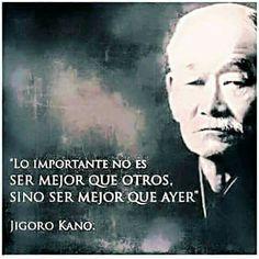 Lo importante no es ser mejor que otros