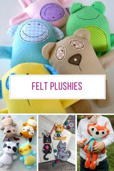 Oh these felt plushies are super adorable! Thanks for sharing!