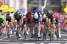 Marcel Kittel wins stage 4 at Tour de France